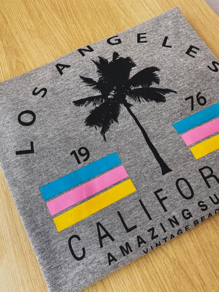 T shirt California
